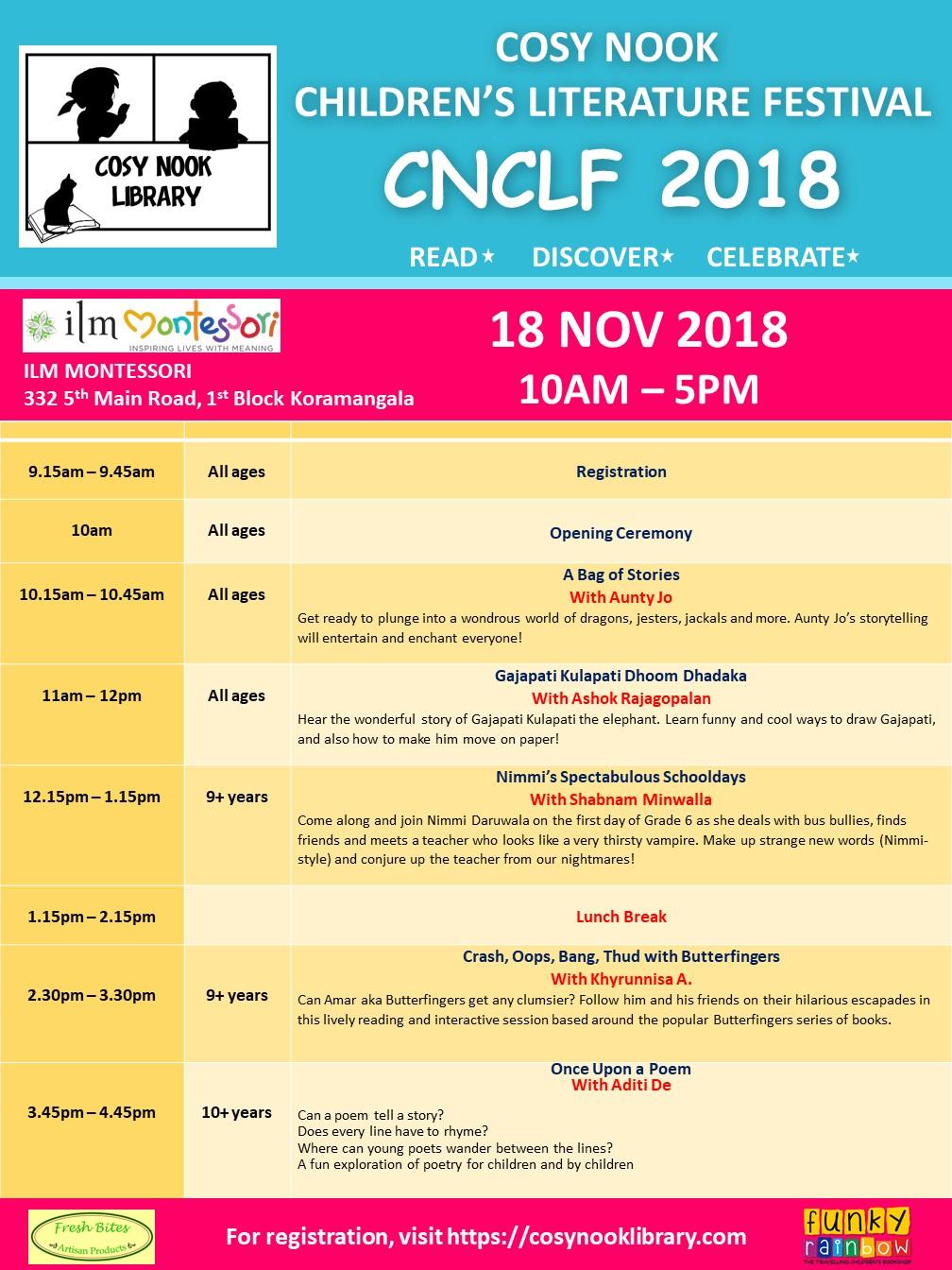 CNCLF2018Schedule